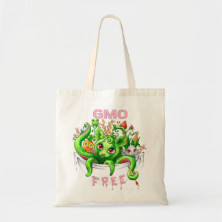GMO free (genetically modified organisms) Tote Bag