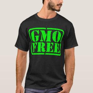 GMO Free - Green T-Shirt