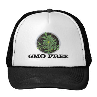 GMO FREE Heirloom Tomato Plant Peace Sign Mesh Hat