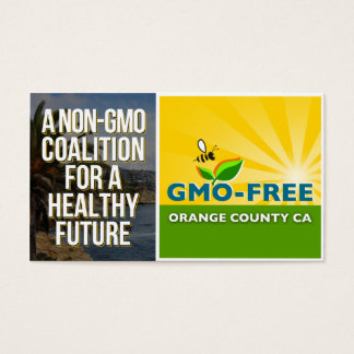 GMO-Free Orange County CA Information Card