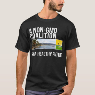 GMO-Free Orange County mens black shirt