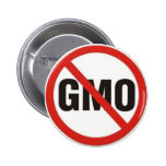 GMO Free Pinback Buttons