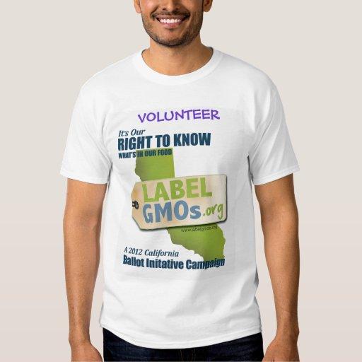 GMO-Free Santa Cruz, GMOs Untested, Unlabeled T Shirt