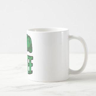 GMO libera en taza verde