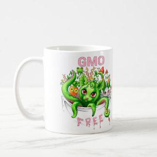 GMO libre (organismos genético modificados) Taza Clásica