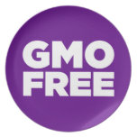 GMO LIBRE (PÚRPURA) PLATO DE CENA