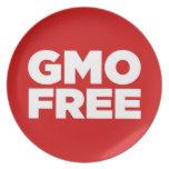 GMO LIBRE (ROJO) PLATO