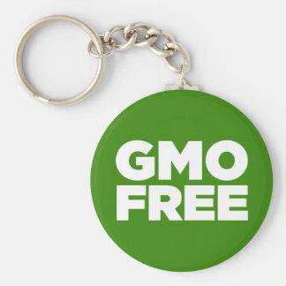GMO LIBRE (VERDE) LLAVEROS PERSONALIZADOS
