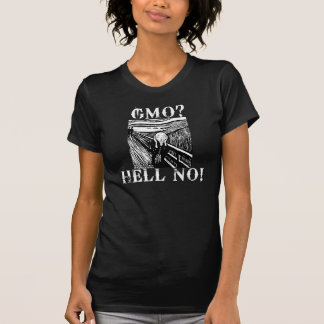 ¿GMO ¡NO Camiseta