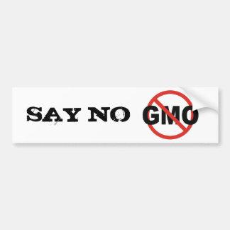 GMO PEGATINA PARA AUTO