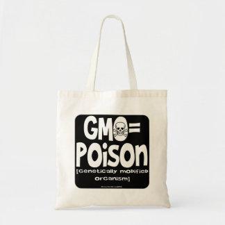 GMO=Poison Bolsa Tela Barata