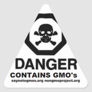 GMO sticker Say No to GMO's prop. 37