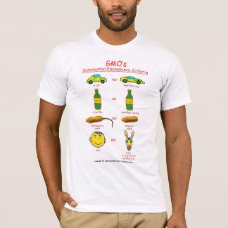 GMO's Substantial Equivalence Criteria T-Shirt