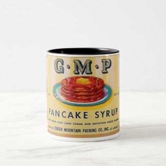 gmp pancake syrup label mug