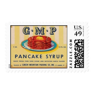 gmp pancake syrup postage stamps
