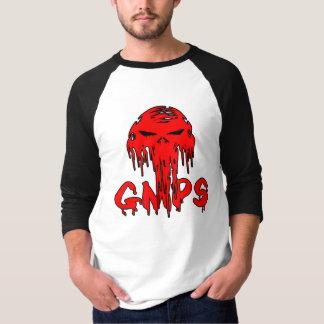 gmps red skull logo t shirt