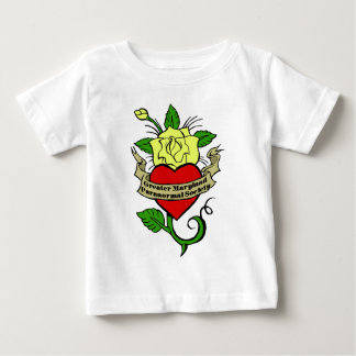 gmps rose tattoo infant t-shirt