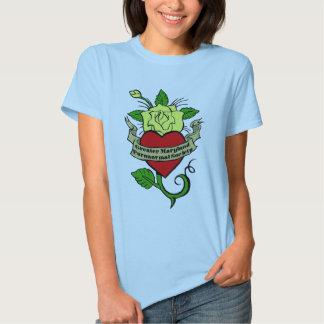 gmps rose tattoo t shirt