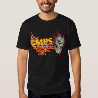 gmps skull logo tee shirt