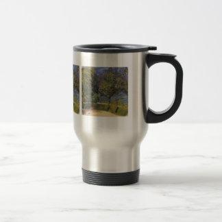 Gmunden in the background by Richard Gerstl 15 Oz Stainless Steel Travel Mug