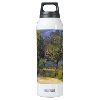 Gmunden in the background by Richard Gerstl 16 Oz Insulated SIGG Thermos Water Bottle