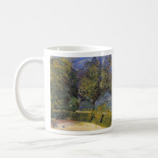 Gmunden in the background by Richard Gerstl Classic White Coffee Mug