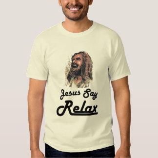 Gnar fuerte - Jesús dice se relaja Camisas