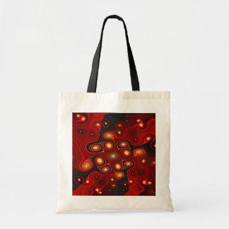 Gnarl en rojo bolsa