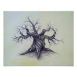Gnarled Tree Print