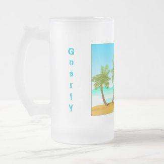 Gnarly Dude Frosted Mug mug