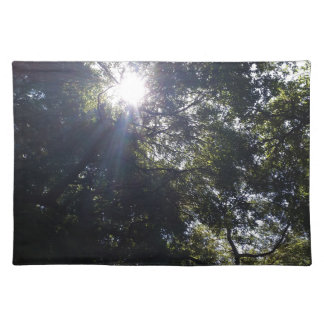 Gnarly oak. cloth placemat