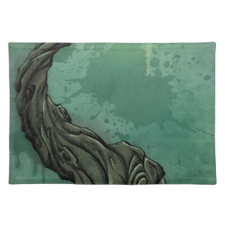 Gnarly Tree and Crescent Moon Placemat