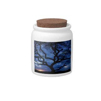 Gnarly Tree Candy Jars