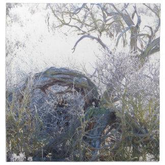 Gnarly Tree Cloth Napkin