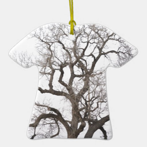 Gnarly tree Double-Sided T-Shirt ceramic christmas ornament