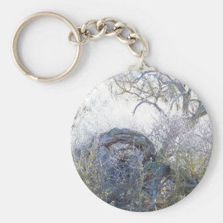 Gnarly Tree Keychain