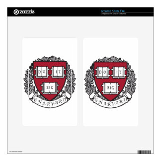 Gnarvard Shield Decal For Kindle Fire
