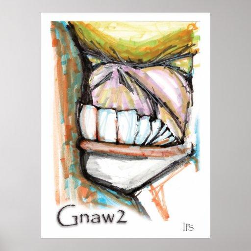 Gnaw2 Print