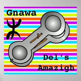 Gnawa del s amazigh poster
