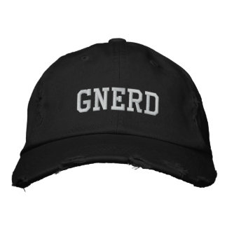 GNERD EMBROIDERED BASEBALL CAPS