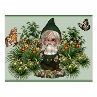 gnome1postcard post cards