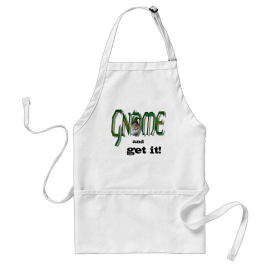 Gnome and Get It! Apron