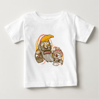 Gnome and Mushroom Attack Baby T-Shirt