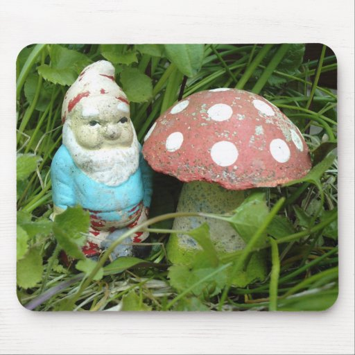 Gnome and Toadstool Mouse Pad