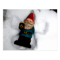 Gnome Angel Postcard