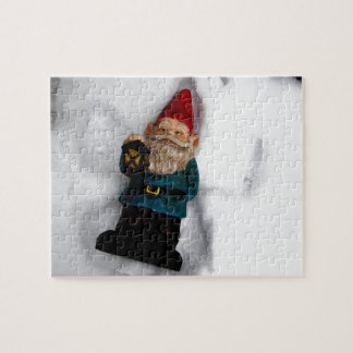 Gnome Angel Jigsaw Puzzle