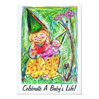 Gnome Baby Shower Invitations