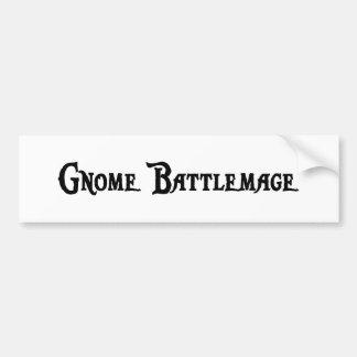Gnome Battlemage Bumper Sticker