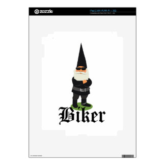 Gnome Biker Skins For The iPad 2