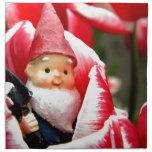 Gnome Blossom Cloth Napkins